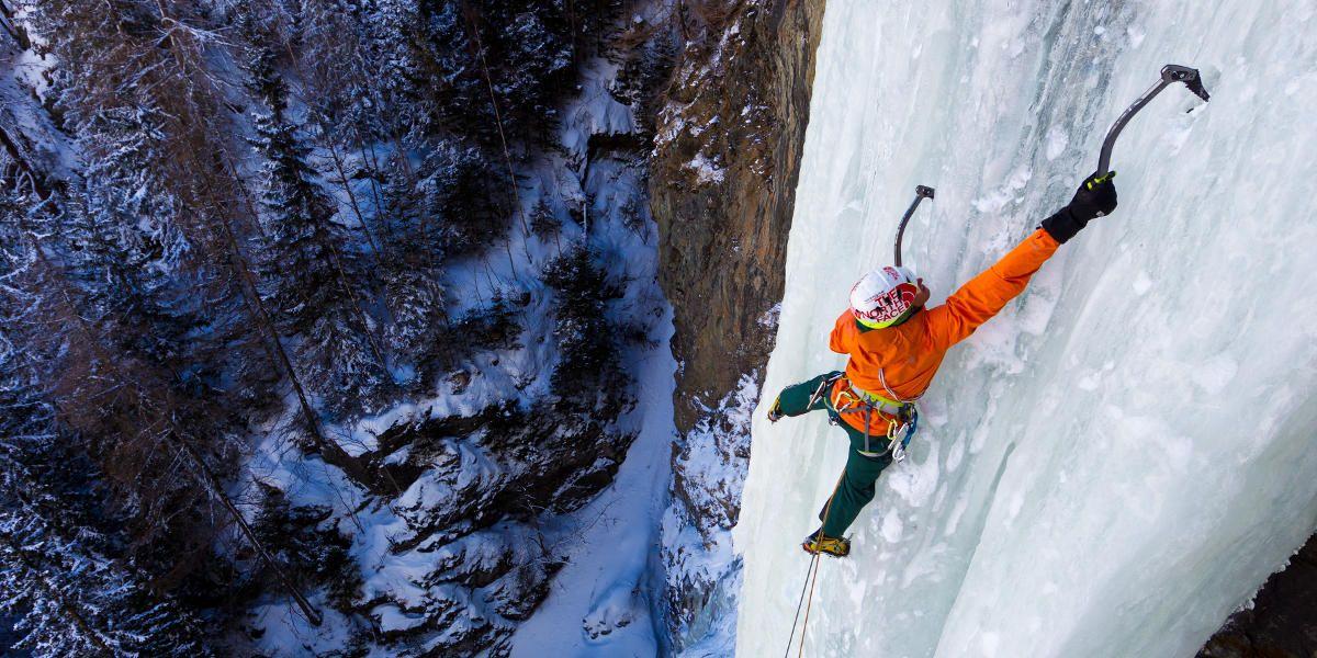 Eisklettern: 3 Locations für die frostige Challenge | #BeatYesterday